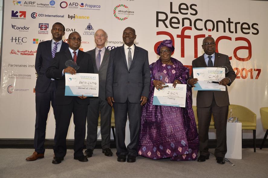 PARTICIPATION CIE «  LES RENCONTRES AFRICA du 02 au 03 Octobre 2017 »