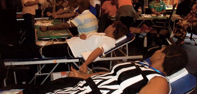 Don de sang : Les collaborateurs ont répondu présents au rendez-vous