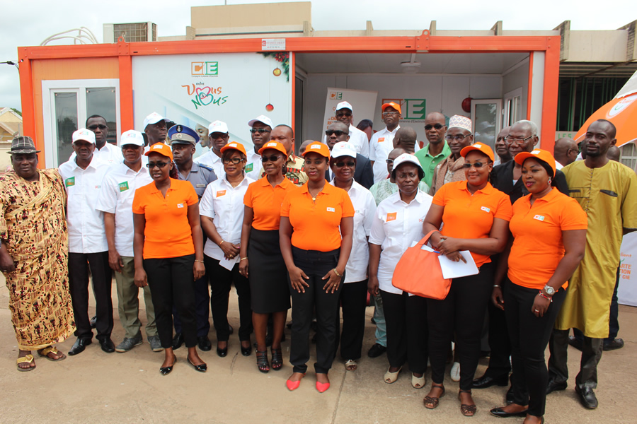 La CIE renforce sa proximité avec les clients de Bouaké