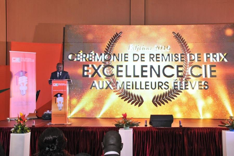 Cérémonie du prix national d'excellence CIE du meilleur élevé – Edition 2016