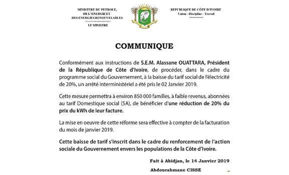 Compagnie Ivoirienne D Electricité